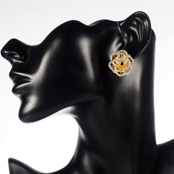 Rose Jewelry Set Earrings